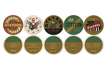 Coasters 10-pack [Stetson]