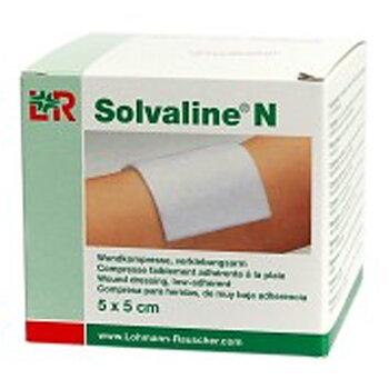Solvaline N kompress 5x5cm steril 25st