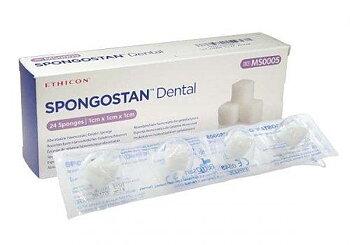 Spongostan hemostatikum resorberbart dental 1x1x1cm 24st