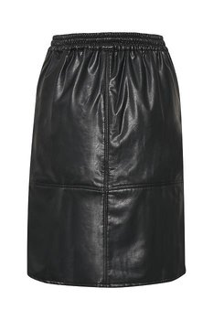 Culture PU skirt Black
