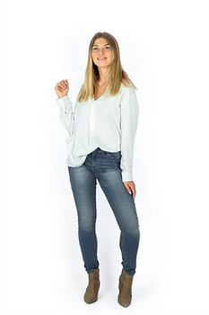 Capri Collection Canyon Jeans Blue Denim