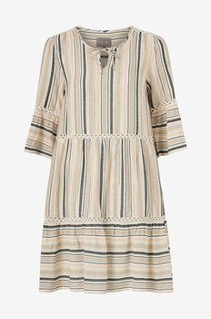 Culture Ebru Dress Stripe