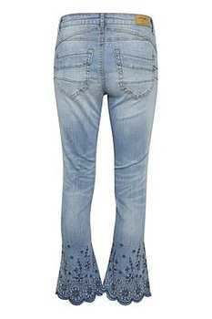 Cream Bolette Jeans shape fit Light Blue