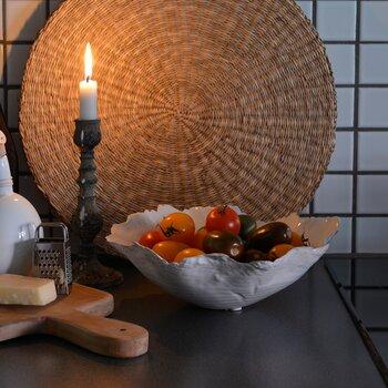 Olsson & Jensen Skål keramik vit