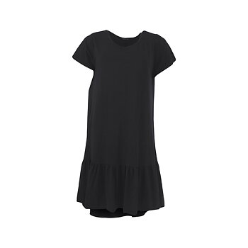 SANN Jersey Dress Black - Black Colour