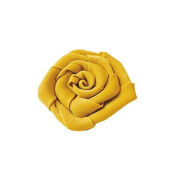 Hårspänne blomma gul