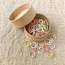 CocoKnits Stickmarkörer Coloured Split Ring Markers