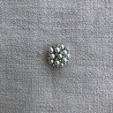 Knapp pärlor och strass 25 mm
