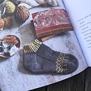 Garn- och bokpaket Oolong - Trettiofem sockor
