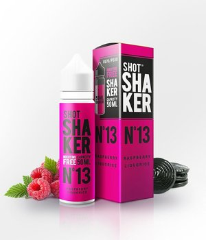 SHOT SHAKER Nº 13 Raspberry Liquorice 50ML