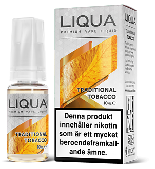 "LIQUA ""Traditional Tobacco"""