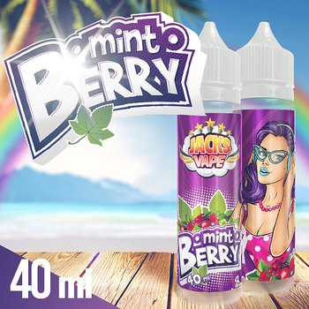 Jacks Vape / Mint Berry 40ml