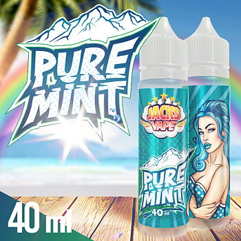 Jacks Vape / Pure Mint 40ml