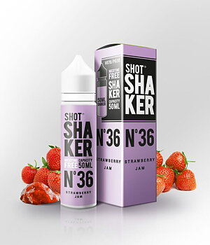 SHOT SHAKER Nº 36 Strawberry Jam 50ML