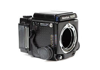 Hyra Mamiya RZ67 PROII kamerahus + 120-magasin