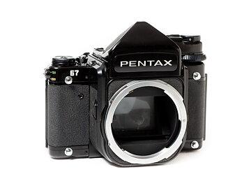 """Hyra Pentax 67 kamerahus + TTL prisma """"Hus 1"""""""
