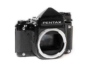 """Hyra Pentax 67 kamerahus + TTL prisma """"Hus 2"""""""