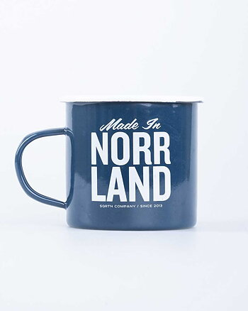 Made In Norrland Blå Mugg