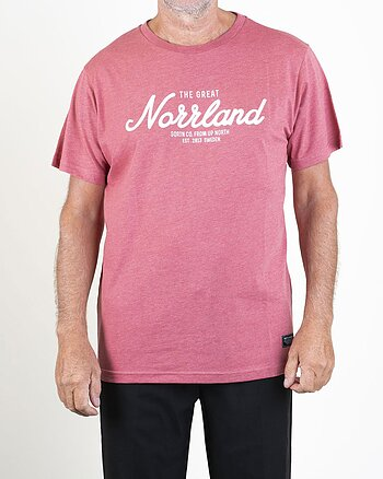 The Great Norrland Ljusröd T-Shirt