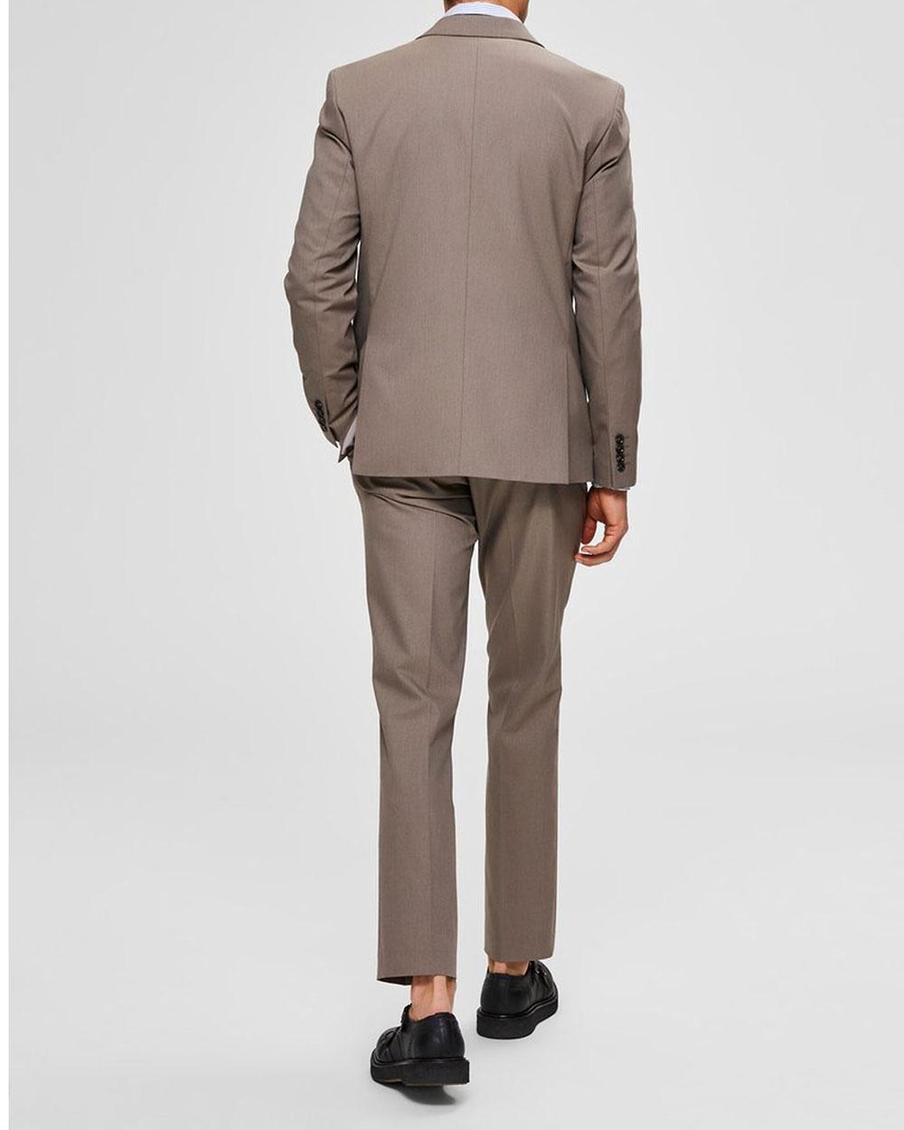 Slim Logan Sand Beige Kostym