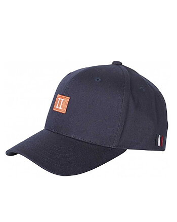 Piece Baseball Cap Marinblå/Orange Keps
