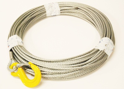 Wire with hook 6 mm / 40 m