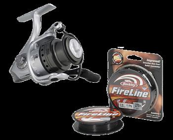 Abu garcia  Silver Max + Fireline 270M
