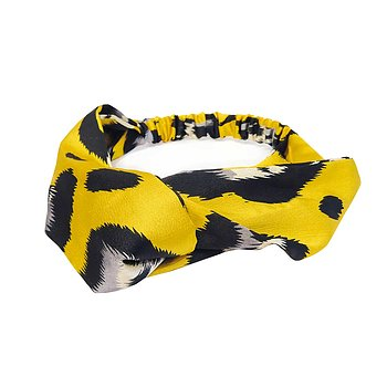 MILA HEADBAND LEO YELLOW