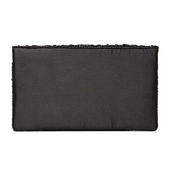 FEMME BEADED CLUTCH BLACK