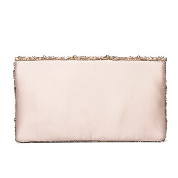 FLORENCE BEADED CLUTCH PINK