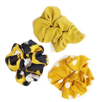 LAINE SCRUNCHY SET YELLOW
