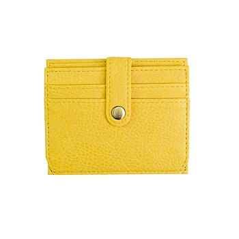 STILE CARD HOLDER YELLOW