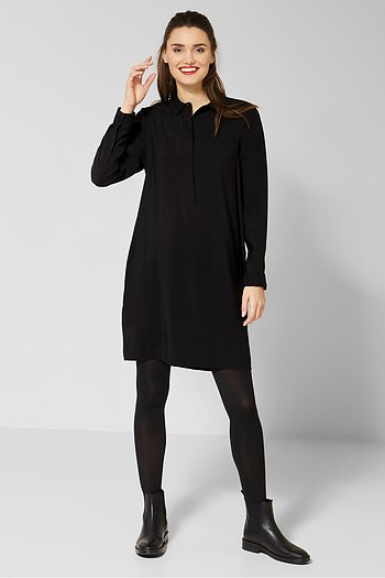 Lyocell Shirt Dress L96