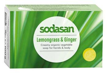 Citrongräs & Ingefära ekologisk Tvål 100 g - SODASAN