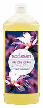 Magnolia & Oliv ekologisk Tvål/Duschtvål 1 L Refill - SODASAN