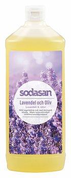 Lavendel & Oliv ekologisk Tvål/Duschtvål 1 L Refill - SODASAN