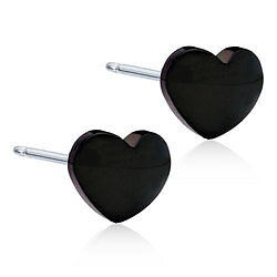 Blomdahl Heart Black BT 5mm