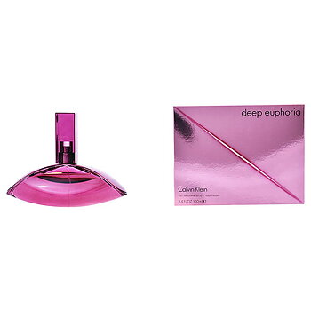 Parfym Damer Deep Euphoria Calvin Klein EDT, Kapacitet: 100 ml