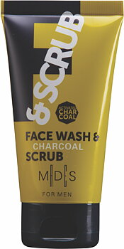 MDS For Men FACE WASH & CHARCOAL SCRUB, 75 ml
