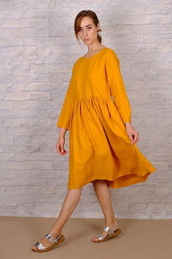 Mahli - linen dress