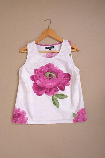 Netin - floral blouse