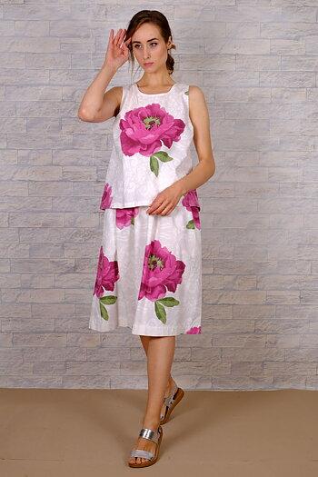 Ereja - blommigt kjol