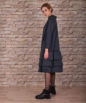 Lene - siden klänning