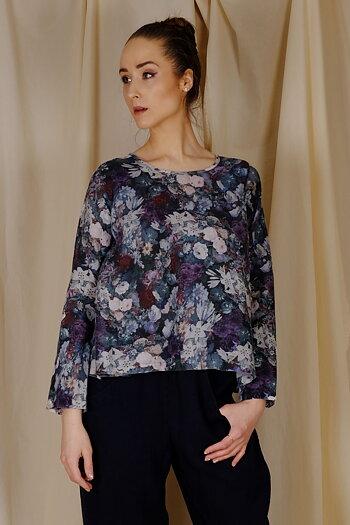 Tibi - floral blouse