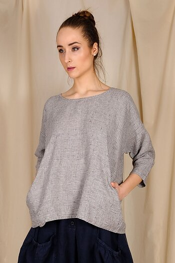 Lou - check blouse from AureaVita