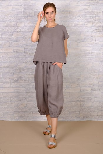Masika - linen trousers from AureaVita
