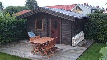 Sauna cabin 9.9 m2