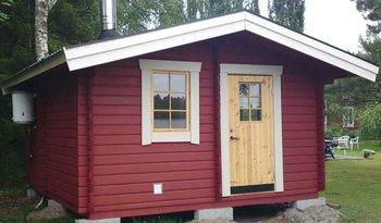 Sauna cabin 14.9m2