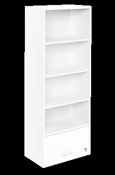 Jalusiskåp - 1 jalusi & 4 pärmplan - 800x400x2129