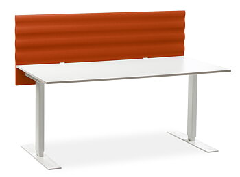 Öresund ljudabsorberande bordsskärm / skärmvägg